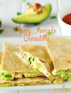Cheesy Avocado Quesadilla