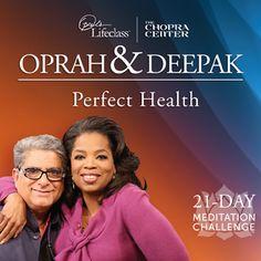 Free Meditation Stream   21-Day Meditation Experience - Oprah & Deepak