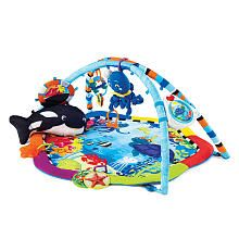 Baby Einstein Baby Neptune Ocean Adventure Gym ...Lizzie has used this playmat since her newborn days.  It's great for all different ages during infancy.  Interesting textures, bright colors, & lots of fun!