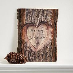 Wood Projects Personalized Romantic Wall Plaque - Carved Heart - 13760 - Buy personalized wall plaques with a romantic carved heart design. Add names and date. Dremel, Wood Projects, Woodworking Projects, Woodworking Plans, Objet Deco Design, Unique Valentines Day Gifts, Ideas Hogar, Romantic Gifts, Romantic Dates