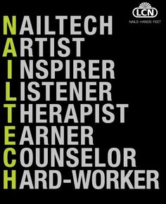 Nail Tech #NailsQuote @ShillysWorld