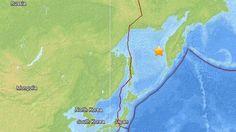 Un maremoto de 8,2 de magnitud sacude el Oriente Lejano ruso.