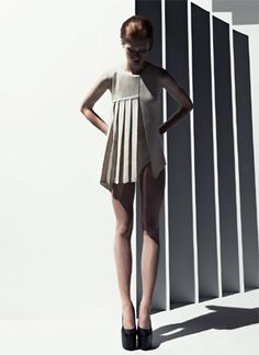 Leading flat knitting machine manufacturer Stoll has launched its latest knitwear collection - Trend Collection S/S 2013 - Architectural Knit.
