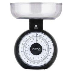 Buy ColourMatch Mechanical Kitchen Scales - Jet Black at Argos.co.uk, visit…