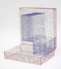 Lucas Samaras - Chicken Wire Box #22, 1972