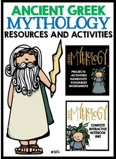 Ancient Greek Mythology: Resources and Activities!