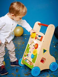 Carrinho de marcha e de atividades-Brinquedos-Vertbaudet | vertbaudet.pt