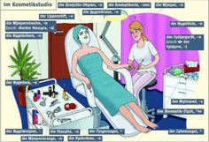 Im  Kosmetikstudio