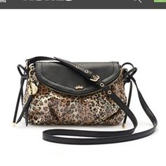 Juicy Couture leopard print sequin bag. Nice! Juicy Couture Bags Crossbody Bags