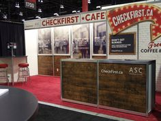 Trade show booth design for CheckFirst.ca - by Everbrave.ca