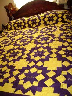 star of Bethlehem crown royal quilt