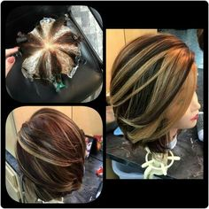 Pinwheel hair color technique https://m.facebook.com/story.php?story_fbid=1190747794274297&id=100000172644894