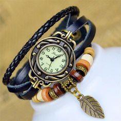 Leather Bracelet Watch