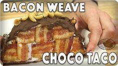 National Vanilla Ice Cream Day: Bacon Weave Choco Taco