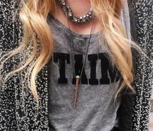 blog, blondie, chick, curls, cute