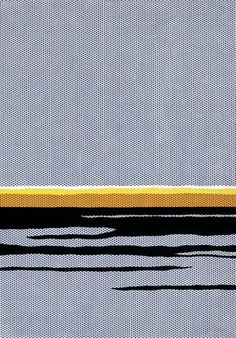 Roy Lichtenstein, Seascape 1964