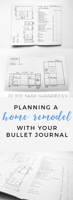 Bullet Journal Spread for Kitchen Remodel http://productiveandpretty.com/bullet-journal-remodel/?utm_campaign=coschedule&utm_source=pinterest&utm_medium=Jen%20%2B%20Liz%20%7C%20Productive%20and%20Pretty&utm_content=Bullet%20Journal%20Spread%20for%20Kitchen%20Remodel