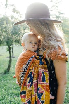 Kantha Bae baby sling carrier