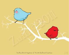 """find more of this adorable (and clever) art at """"Bad Bird's"""" etsy shop... http://www.etsy.com/shop/badbird?section_id=10299511"""