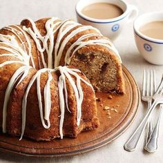 Chocolanutty Banana Cake: Dessert or coffee cake? It's up to you. A hint of orange rounds out the flavors.