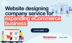 Ideally, expand e-Commerce business with website design company service of SynapseIndia.   ENGAGE MORE CUSTOMERS, INCREASE CONVERSION RATE, AND SALES PROFIT. Mobile Applications, Website Design Company, E Commerce Business, Ecommerce, Web Design Company, E Commerce