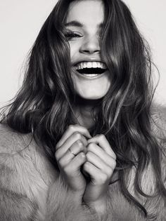 #beautiful #laugh #woman #portrait