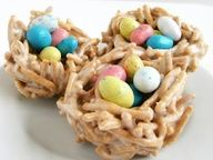 Birds nest snack