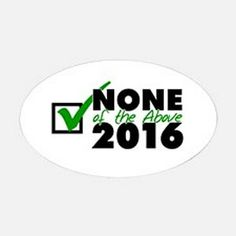 100 Funny Political Bumper Stickers for the 2016 Presidential Election - https://www.mavericklabel.com/blog/100-funny-political-bumper-stickers-for-the-2016-presidential-election/
