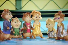 Alvin-and-the-Chipmunks-with-Alvin-Simon-Theodore-and-the-chipettes.jpg (600×401)