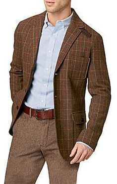 $220, G.H. Bass Plaid Blazer. Sold by jcpenney. Click for more info: https://lookastic.com/men/shop_items/2557/redirect