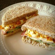 パスコのイングリッシュマフィンで簡単絶品サンド! - 17件のもぐもぐ - イングリッシュマフィンサンド♫ by conatsun