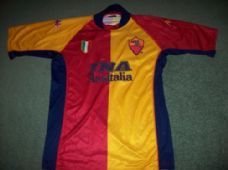 2001 2002 Roma Adults Large European Football Shirt Top Maglia Classic  Football Shirts 3c94a2266