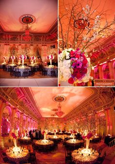 The Plaza Hotel Wedding Reception Ballroom******I like the lighting in the room**********