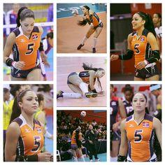 Brenda Castillo, Dominican Volleyball Team