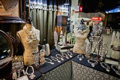 Jewelry and accessories: I can't wait to see products like this at An Affair of the Heart of Tulsa.