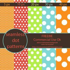 Seamless dots freebie — Restored 316 Designs