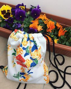 colorful morning🌺 . . . . . . . #kissedstitch #turmix_knits #colorful #livecolorfully #flowers #springfashion #springflowers #bag #gymbag… Spring Flowers, Drawstring Backpack, Knits, Gym Bag, Spring Fashion, Backpacks, Colorful, Bags, Instagram