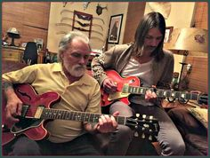*Dickey & Son Duane Betts 11-27-15: Boy Music, Music Love, Blue Soul, Dickey Betts, Tedeschi Trucks Band, Allman Brothers, Guitar Songs, Rhythm And Blues, Gibson Les Paul