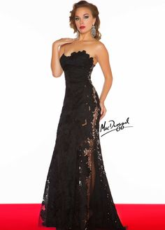 Gorgeous black tie event dress!