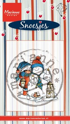 Hm9473 Snoes & snowman - Snoesjes stempels - Clear stamps - Hobbynu.nl