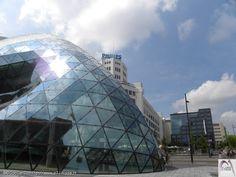 18 septemberplein Blob, Witte Dame, Art Hotel, richting PSV stadion