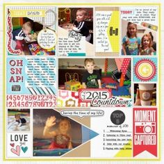 Digital Layout | Ready To Go Template Kenner Collection by Just Jaimee