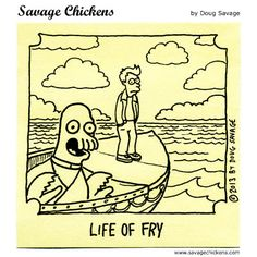 An Epic Journey by Savage Chicken