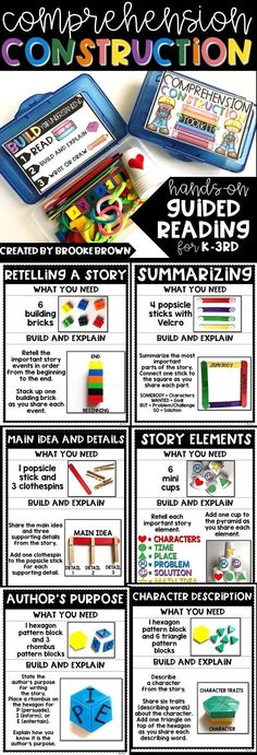 Hands-on Guided Reading through Comprehension Construction
