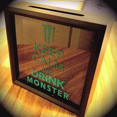 Monster Tab Holder I Made For My Man Cave Basement