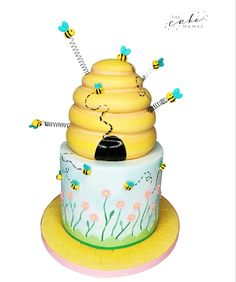 Click the link to learn more on ordering your celebration cake today. Cakes Today, Desserts To Make, Beehive, Celebration Cakes, Baby Shower Cakes, First Birthdays, Fondant, Cake Decorating, Make It Yourself