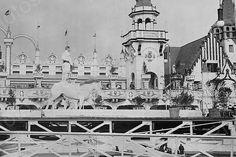 Coney Island Luna Park Circus Show 4x6 Reprint Of 1920s Old Photo