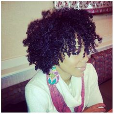 If my hair looked like this in its natural state, I would be all over giving up the creamy crack!!