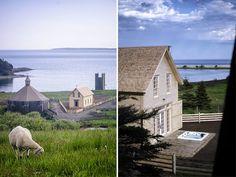 Schoolhouse, Nova Scotia, Canada | holiday homes, holiday rentals