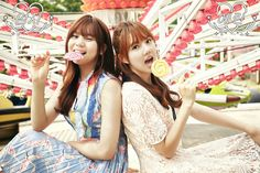 Yerin & Umji #여자친구 #GFRIEND #예린 #엄지 #1stAlbum #LOL #Lotsoflov ver. #teaser #image #20160711